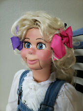 "Professional Ventriloquist Figure, Dummy, Puppet ""Sweetie Pie"""