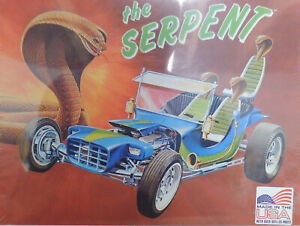 THE SERPENT CUSTOM SHOW ROD LINDBERG 1:16 SCALE PLASTIC MODEL CAR KIT