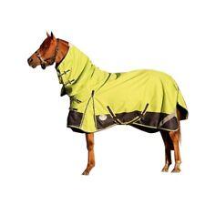 LOVE MY HORSE 4'9 - 6'9  1200D Waterproof Rainsheet Combo Rug Lime / Navy