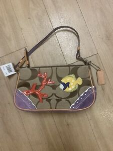 Coach Limited Edition Fish Bag 1491 NWT $228