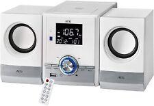 ANGEBOT AEG MC 4461 BT Kompaktanlage Bluetooth Musik Center CD-Player MP3 Weiß