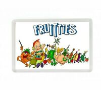 LOS FRUITIES SERIE DIBUJOS ANIMADOS FRIDGE MAGNET IMAN NEVERA
