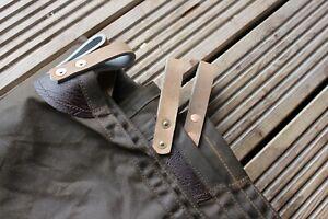 Waxed canvas leather solo tarp  leathercraft 🇬🇧 bushcraft wildcamping