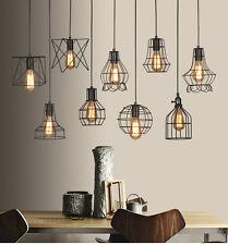 Neu Industrie Vintage Lampenschirm Metall Deckenlampe Hängeleuchte Pendelleuchte
