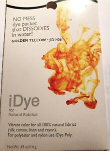IDye - Farbe 406  Golden Yellow  -  zum Färben aller natürlichen Stoffe