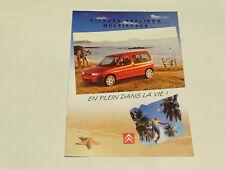 Documentación automóvil - Folleto Citroen Berlingo