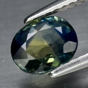 1.15ct 6.8x5.7mm VS Oval Natural Unheated Bluish Green Sapphire, Australia
