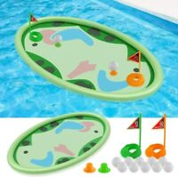 62″ Inflatable Swimming Pool Golf Mat Game Toys for Kids Adults
