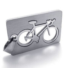 Pendant Necklace 50Cm Chain Jewellery Lovely Stainless Steel Bike Bicycle