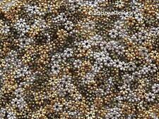 1000 Tibetan Antiqued Silver Gold Bronze 4mm Daisy Accent Spacer Bulk Beads