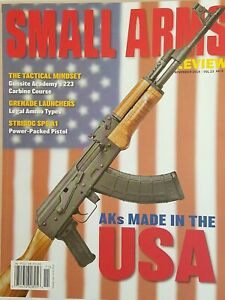 Small Arms Review November 2019 NEW 98 Pages Military