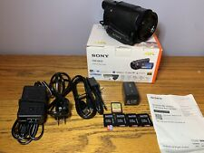 "Sony Fdr-Ax33 Handycam Camcorder 3"" Touch Screen - Black"