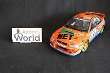 AutoArt Subaru Impreza S4 WRC '98 1:18 #4 Kremer / Wicha Deutschland (JvdM)