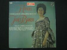 HANDEL Cantata Lucrezia Largo Ombra Mai Fu/Etc. JANET BAKER Raymond LEPPARD
