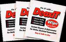DeoxIT® D-Series D1W - 50 count individual wipes - international shipping