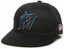 Miami Marlins MLB OC Sports Black 2019 New Logo Hat Cap Adult Men's Adjustable