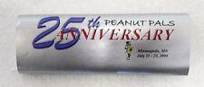 PLANTERS PEANUTS MR. PEANUT 2004 25TH ANNIVERSARY CANDY BAR WRAPPER