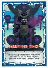 Lego Ninjago Serie 4 TCG Sammelkarten Karte Nr. 183 Garmadons Macht