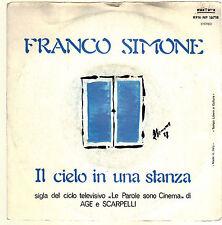 IL CIELO IN UNA STANZA - SARA'!.. # FRANCO SIMONE