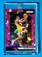 Kobe Bryant PINK CRACKED ICE SOARING REFRACTOR PANINI PRIZM LAKERS - Rare! MINT!