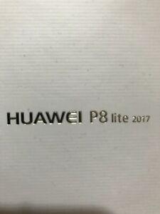 Huawei P8 LITE 2017 BLACK/NOIR 16GO NEUF
