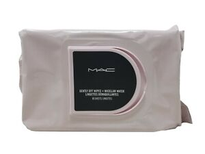 Mac Gently Off Wipes + Micellar Water Makeup Remover 80 Sheets