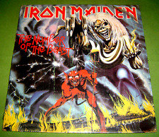 PHILIPPINES:IRON MAIDEN - THE NUMBER OF THE BEAST,LP ALBUM,RARE,SCARCE,IN SHRINK