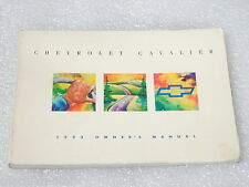 Chevrolet NEW Owner Manual Cavalier 1993