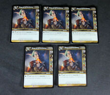 Lot of (5) World of Warcraft WoW Tcg Ring of Invincibility Badge - Item Epic