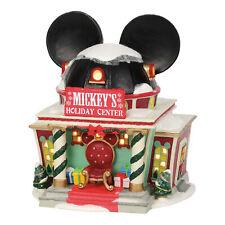 Dept 56 Disney Village Mickey's Holiday Center