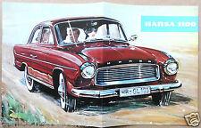 HANSA 1100  PROSPEKT 1958-61 GOLIATH BREMEN KOMBI TOP OLDTIMER SAMMLER
