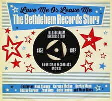 LOVE ME OR LEAVE ME-BETHLEHEM RECORDS STORY1958-62 3 CD NEUF NINA SIMONE