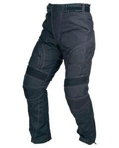 Men's Motorcycle Armour Biker Cordura Textile Motorbike Waterproof Trouser Pants