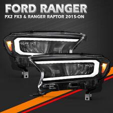 VLAND LED Projector Headlights Fit Ford Ranger PX MK2 2015-ON Wildtrak Raptor