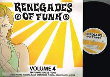 RENEGADES OF FUNK Vol 4 3xLP Greg Packer MAKOTO Renegade UK RRLP05 @Drum'N'Bass