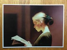 (2) Art Postcards  -  Gerhard Richter - Betty and  Lesende (The Reader)