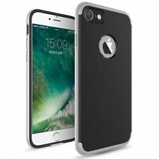Case For Apple iPhone 10 X 8 7 6s 5s Luxury Carbon Fibre Bumper Hard Back Cover