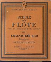 Maximilian Schwedler - Schule für FLÖTE - ERNESTO KÖHLER