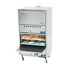 Comstock Castle 2PO19 Gas Double Stack Deck-Type Pizza Oven- 50,000 BTU