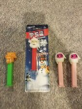 Set of 4 Pez Dispenser, Lion King, Santa Claus, 2 Mummies