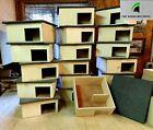 Hedgehog House Wooden Handmade Hibernation Home box