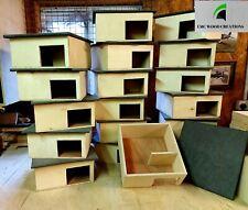 More details for hedgehog house wooden handmade hibernation home box