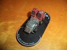 JES III Missile Carrier #047 Mechwarrior Fire For Effect 35 Points JESIII