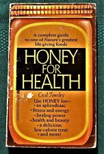 Honey for Health by Cecil Tonsley Paperback 125p c1969 1st US Edition