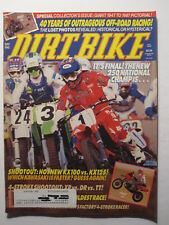 1987 September DIRT BIKE Magazine motocross moto x racer mx action AHRMA