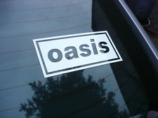 Oasis rock band decal sticker