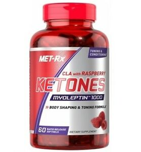 MET RX CLA WITH RASPBERRY KETONES 90 SOFTGELS - BODY SHAPING & TONING FORMULA