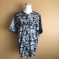 San Francisco Giants Majestic MLB Men's Size Baseball Jersey--Camo