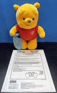 "Fisher Price Disney ""Love To Walk Baby Pooh"" Walks Talks Laughs Music NEW"