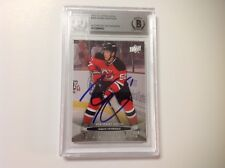 Adam Henrique Signed UD Upper Deck Young Guns Card RC Beckett BAS BGS d